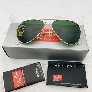 Ray-Ban Rb3025 Classic Aviator Unisex Sunglasses